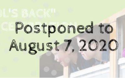 """School's Back"" Award Celebration: August 7, 2020"