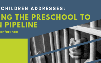 "Fall Conference ""Breaking the Preschool to Prison Pipeline"": 2019"